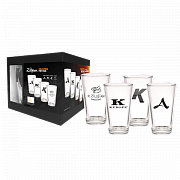 ZILDJIAN ZPACK14-4 Collectible Pint Glass Set