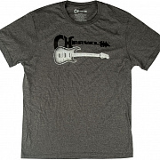 CHARVEL STYLE1 TEE GRY 2XL