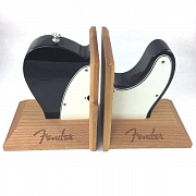 FENDER Tele Body Bookends, Black